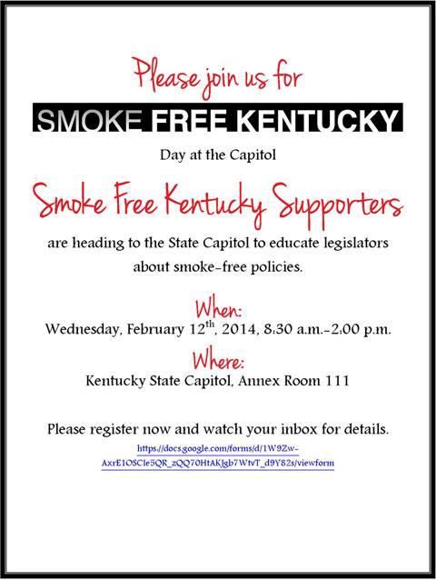 smoke-free flyer