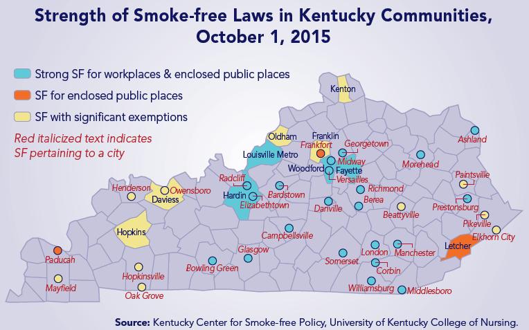 smoke-free laws map