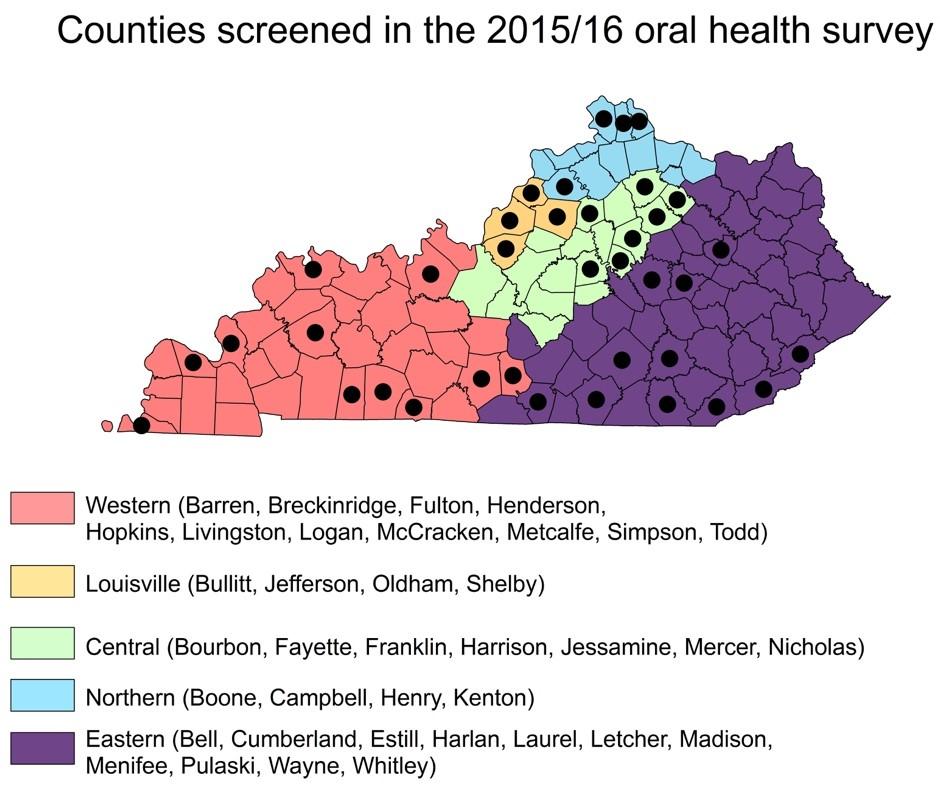 Oral Health Screening Map