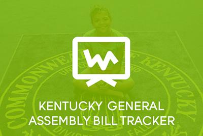 Kentucky General Assembly Bill Tracker