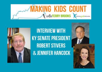 Interview with KY Senate President Robert Stivers & Jennifer Hancock