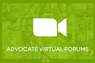 Advocate Virtual Forums